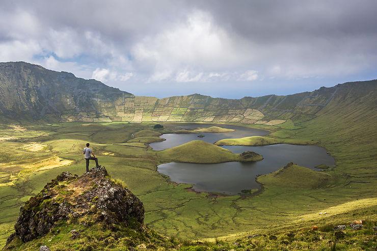 Corvo, extrêmes Açores