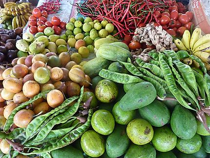 Pasar baru à Bajawa