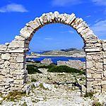 Le village grec factice