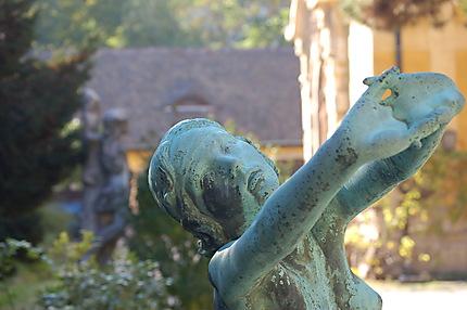 Statue au musée Kiscelli