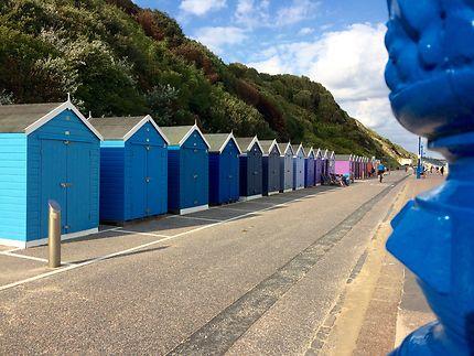 Bournemouth et ses cabanes