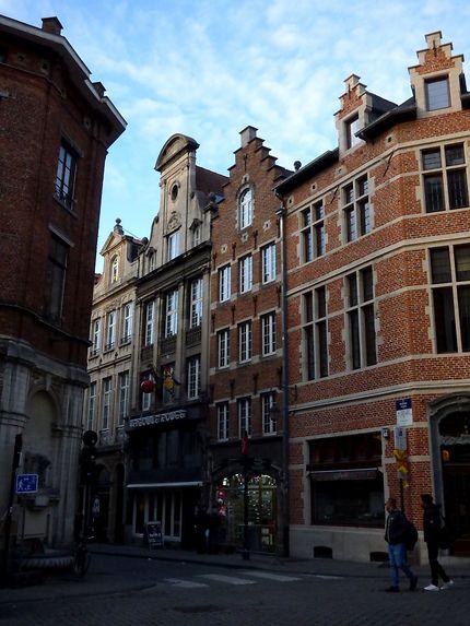Rue dans Bruxelles