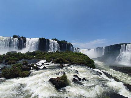 Chutes Iguazu côté Brésil