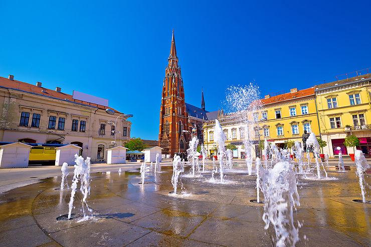 Osijek, capitale de la Slavonie