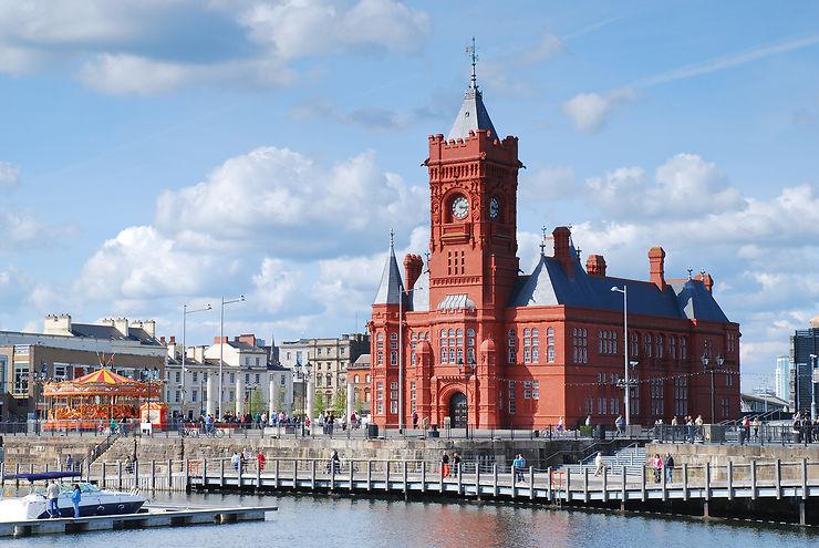 Cardiff, capitale du pays de Galles
