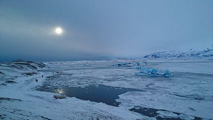 Banquise en Islande