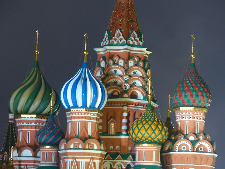 Cathédrale Basile-le-Bienheureux, Moscou