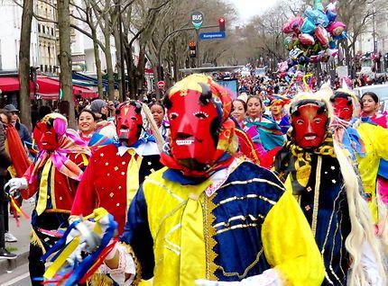 Carnaval de Paris 2020 rue du Faubourg du Temple