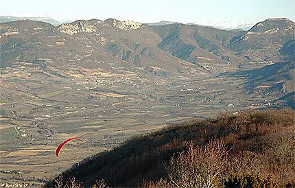 Vallée de Ste Jalle, vue de la Montagne du Linceuil