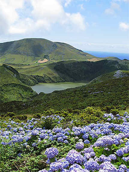 Caldeira Funda et son lac