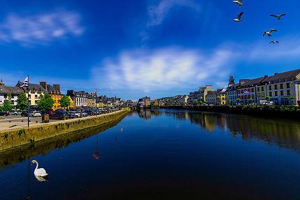 Rivière Élorn à Landerneau (Bretagne)