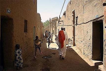 Dans les rues de Djenné
