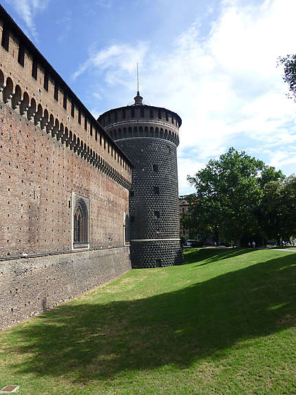 Au pied du château