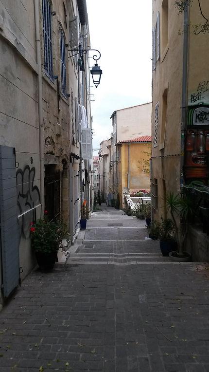 Une rue du Panier