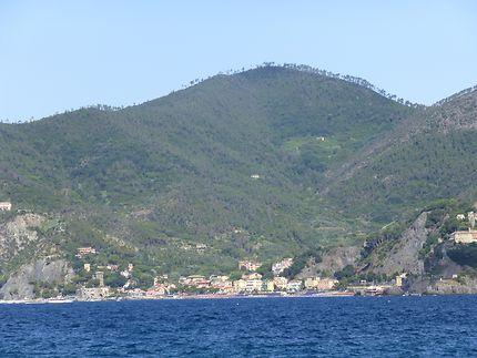 Vue sur Monterosso al Mare, Cinque Terre