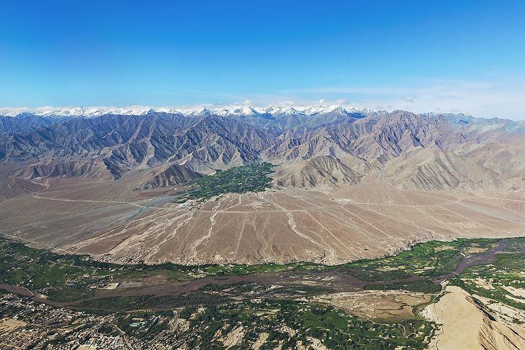 Leh, une capitale au pied de l'Himalaya