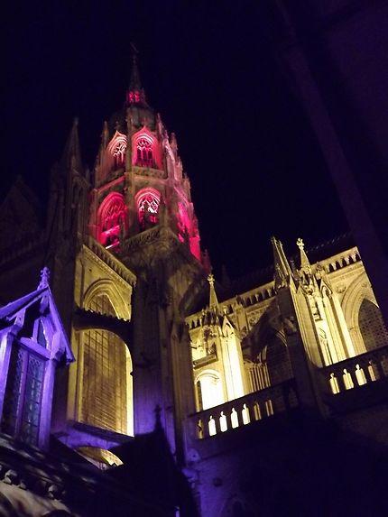 Illumination de la cathédrale de Bayeux