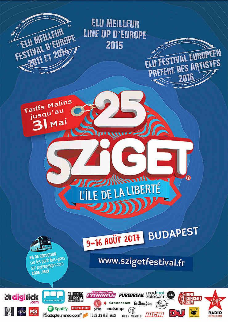 Sziget Festival à Budapest : Woodstock sur Danube