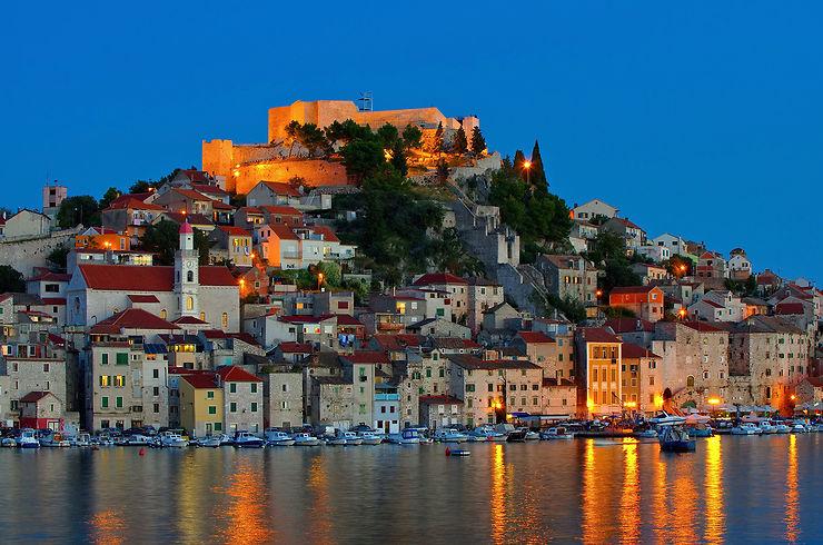 Šibenik, joyau croate de la Dalmatie
