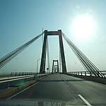 Pont Rafael Urdaneto sur le Lac Maracaibo