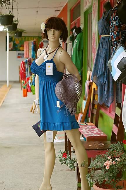 """Un mannequin """"Ticas"""""""