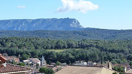 La montagne Ste Victoire