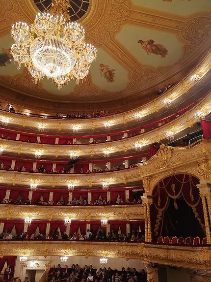 La grande salle du Bolchoi