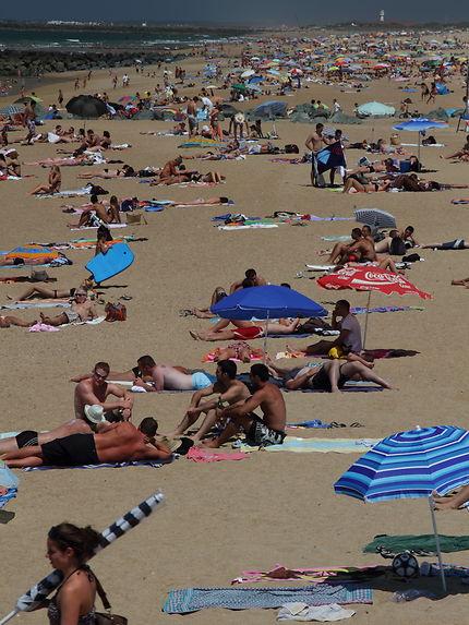 C'est l'été tous à la plage