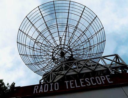 Radio télescope de la Villette