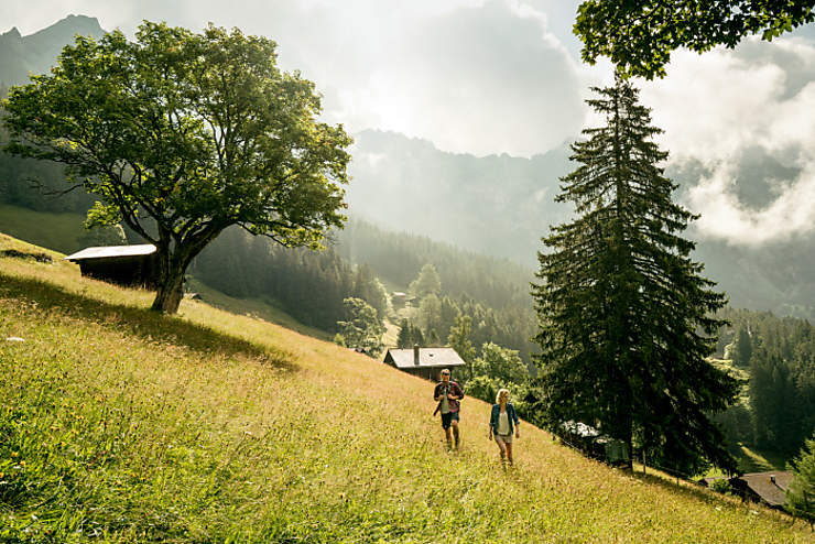 Suisse - Dormir dans un chalet d'alpage dans les montagnes