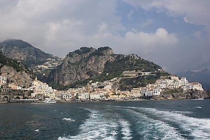 Quitter Amalfi par la mer