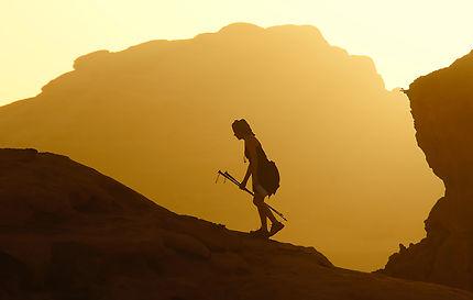 Entrée dans la lumière, Wadi Rum, Jordanie