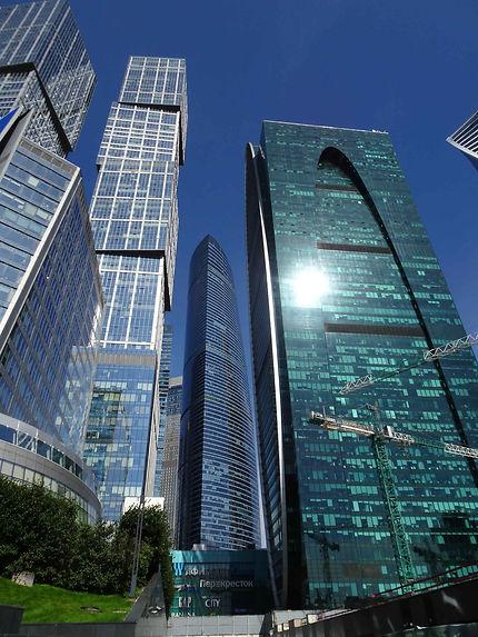 Quartier d'affaires de Moscou