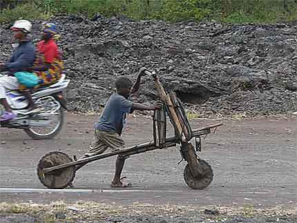 Vélo de Goma