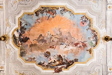 Ca' Rezzonico - Somptueux plafond