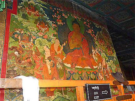 Fresques murales du Monastère de Jokhang
