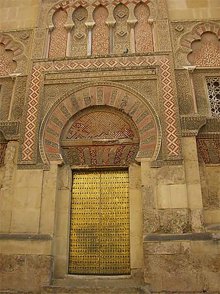 Porte de la mosquée de Cordoue
