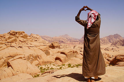 Cœur, Wadi Rum, Jordanie