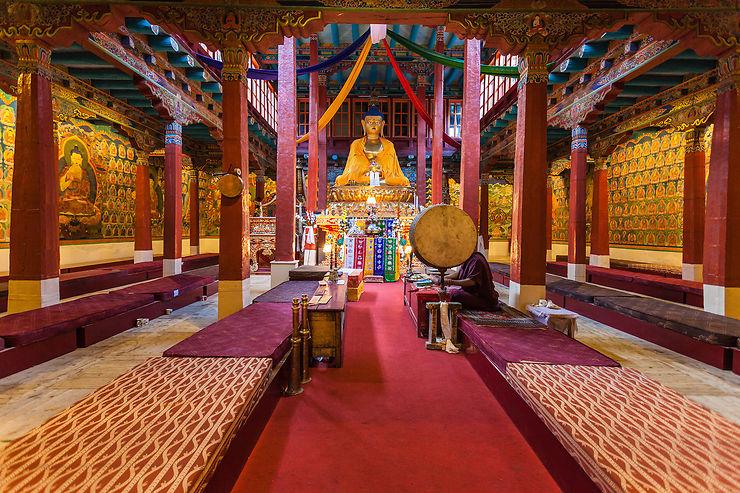 Hémis, quartier général du bouddhisme ladakhi