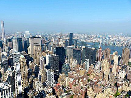 New -York vu depuis l'Empire State Building