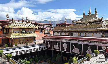 Temple ou monastère de Jokhang (Lhassa)