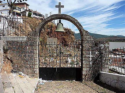 Entrée du cimetière de Janitzio