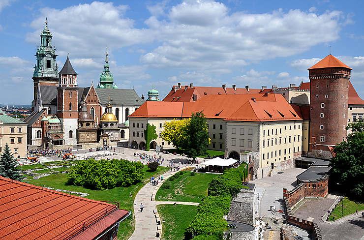 Cracovie, la belle Polonaise