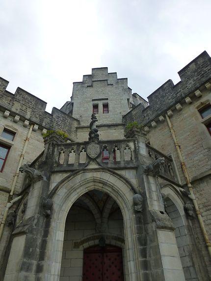 Entrée du château d'Abbadia