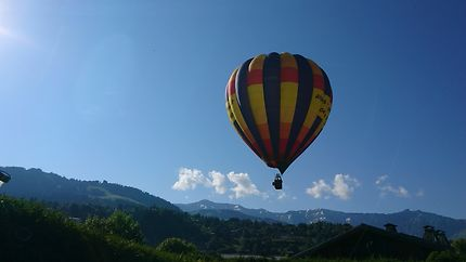 Montgolfière à Megève