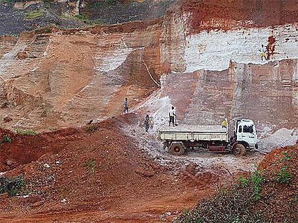 Mine de sable