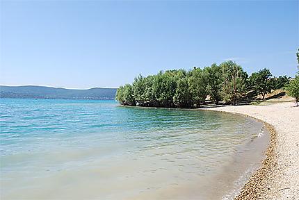 Les rives du Lac de Sainte-Croix