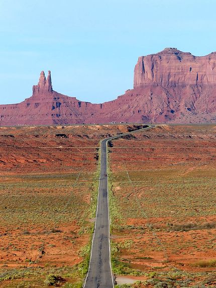 Monument Valley, 163 road