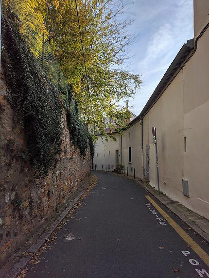 Ruelle tranquille à Lyon
