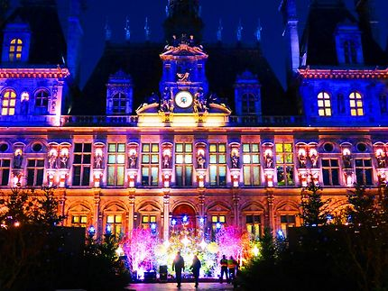 Paris illuminations des fêtes de fin d'année 2020